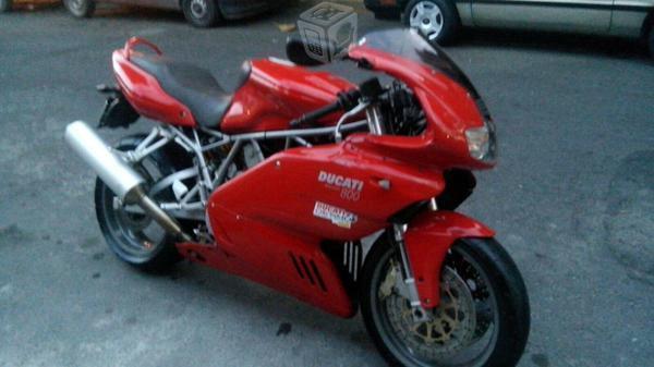 Ducati deportiva 800cc impekble 16 mil km al dia -05