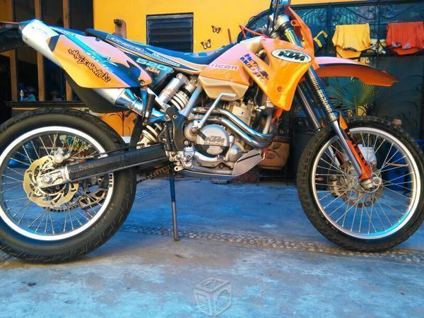 Poderosa ktm 520 motard -02