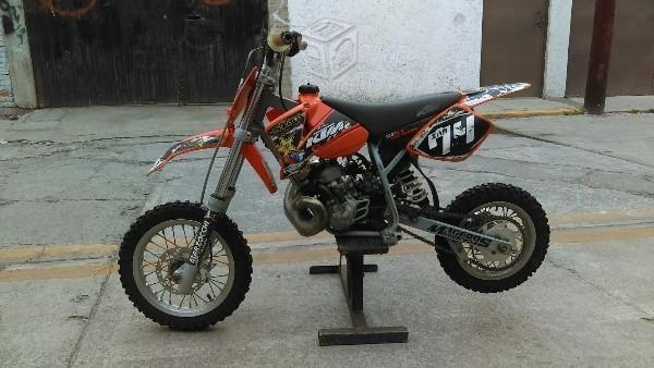 KTM 50cc lista para competencia -04
