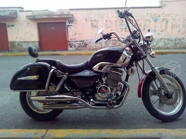 Moto estilo chopper 250 -06