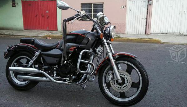 MOTO CHOPPER TOROMEX 250 BUEN MANEJO -10