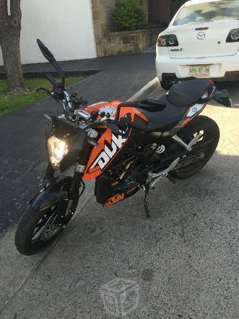 KTM duke 200 abs modificada -13