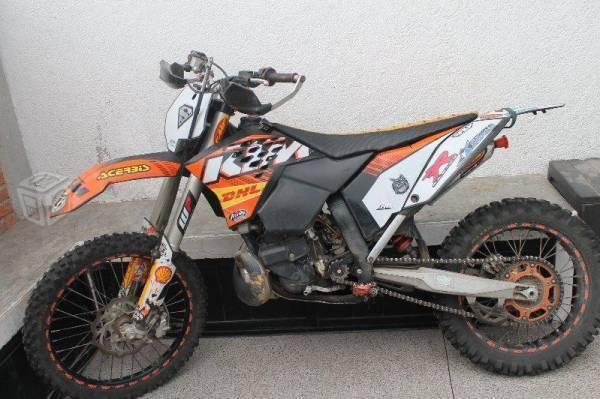 Motocross Ktm 250 2 tiempos -10