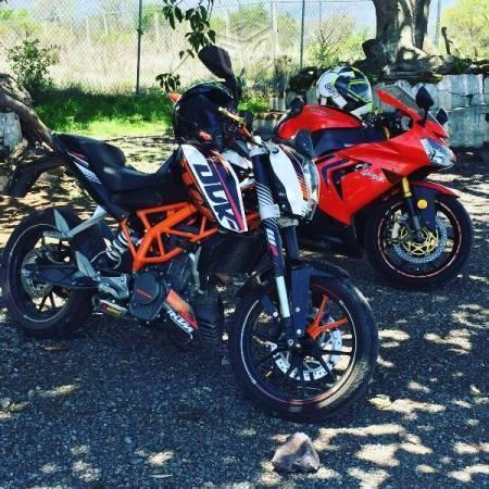 Motocicleta KTM Duke 200